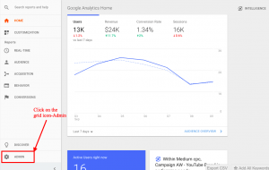 fig1.1-Google Analytics Goals And Funnels: grid-icon-admin