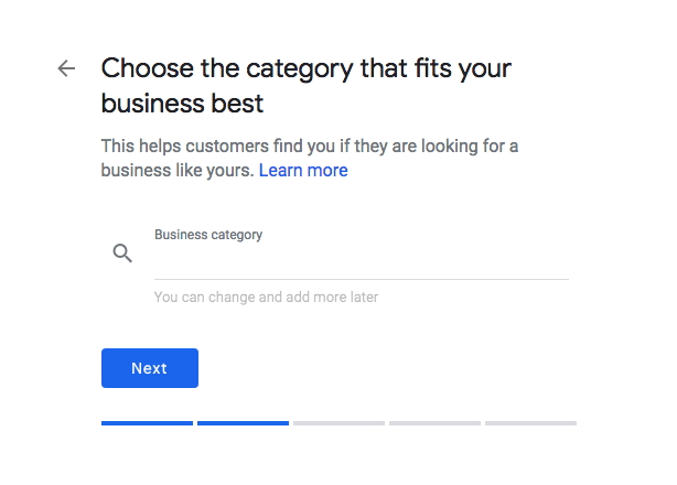 fig2.5-Choose a category for your business