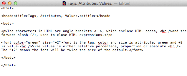 fig 1.6a - Tags, Attributes, Values.html