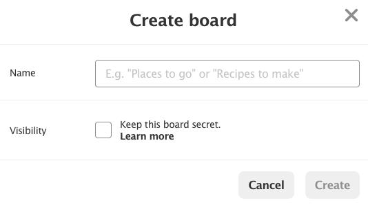 fig - Create a Board