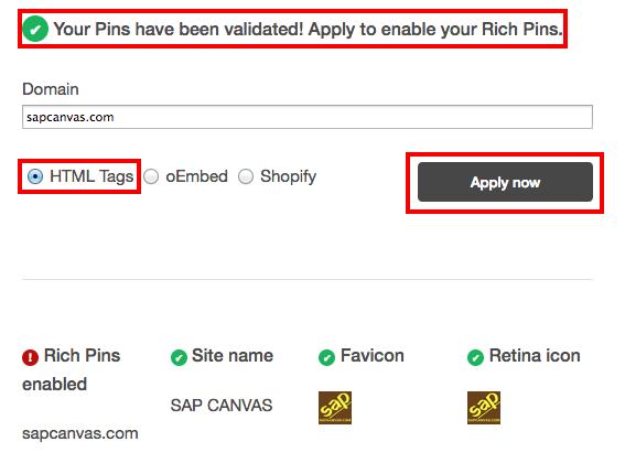 fig - Rich Pins Validator