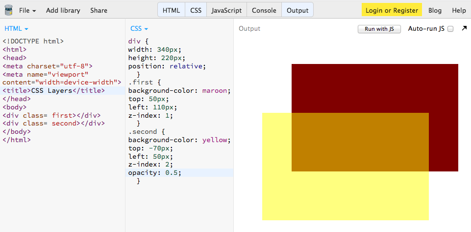 CSS Layers