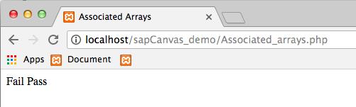 7.2 - Output Associated Arrays