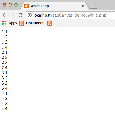 "10.2 - Output ""While Loop"""